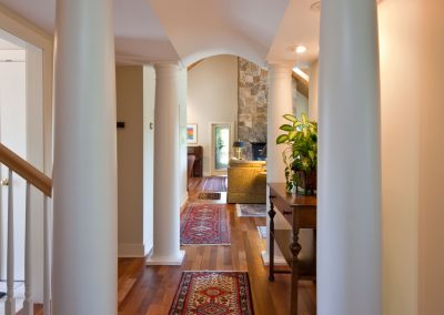 Waterfront Residence Column Breezeway Lassel Architects